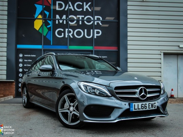Mercedes Benz C-class 2.1 C220 D Amg Line Estate