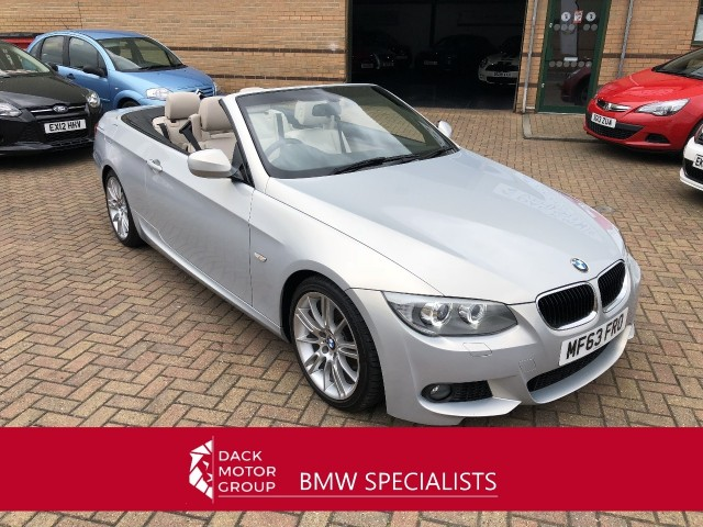 BMW 3 Series 2.0 320d M Sport Cabriolet Convertible