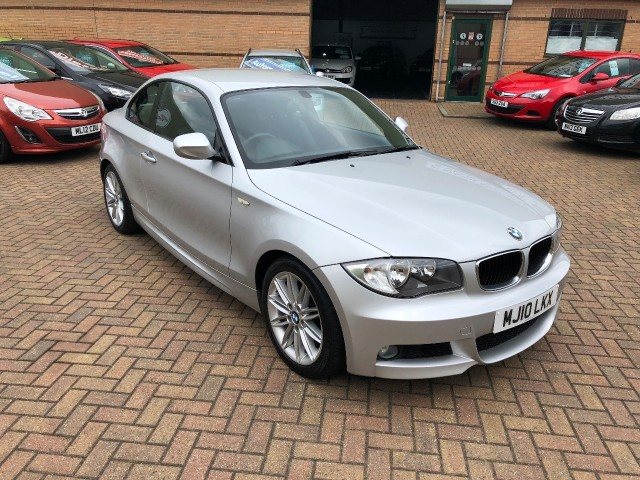 BMW 1 Series 2.0 120d M Sport Automatic Coupe