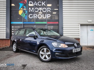 Volkswagen Golf 1.6 Match Edition Tdi Bmt Estate