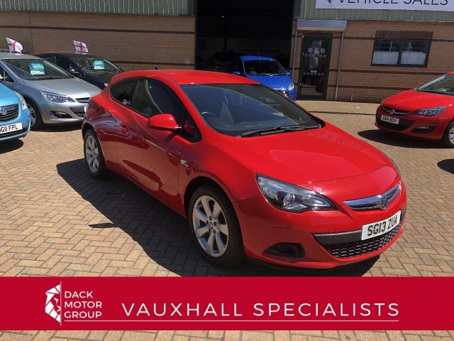 Vauxhall Astra 1.4 GTC Sport S/S Hatchback