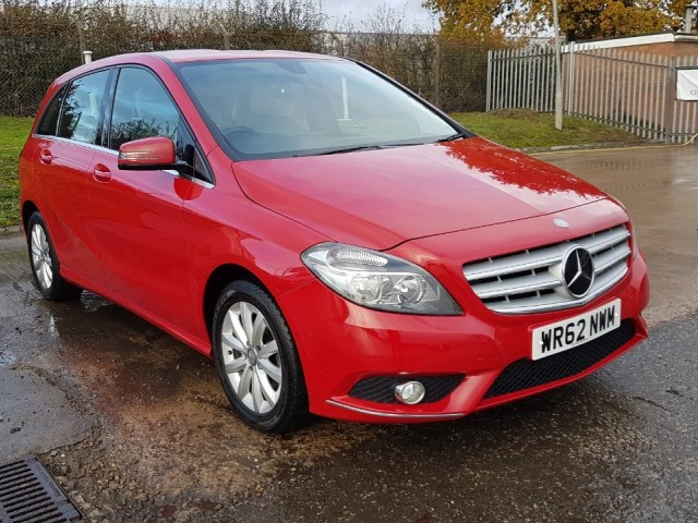Mercedes Benz B-class 1.8 B180 CDi BlueeffiCiency Se MPV
