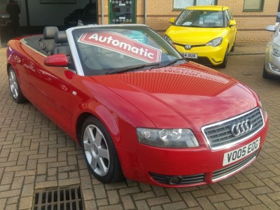 Audi A4 2.4 Sport Cabriolet