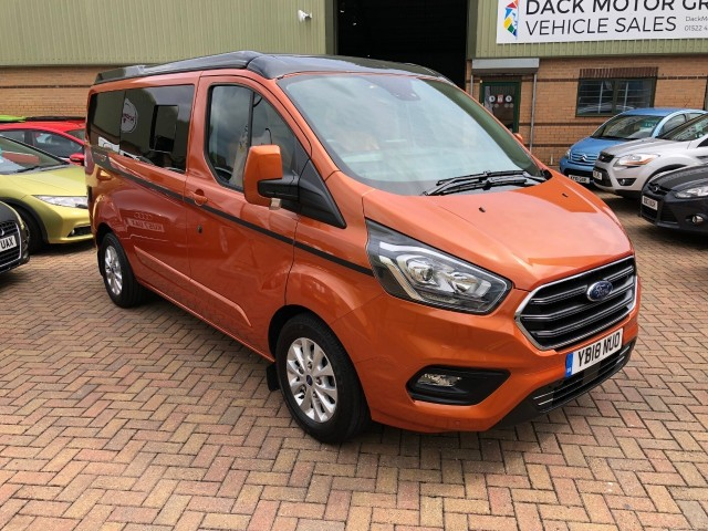 Ford Transit Custom Terrier 3 Wellhouse SE Camper Van Panel Van