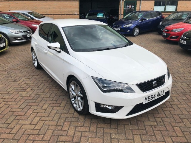 Seat Leon 2.0 TDi Fr Technology Hatchback