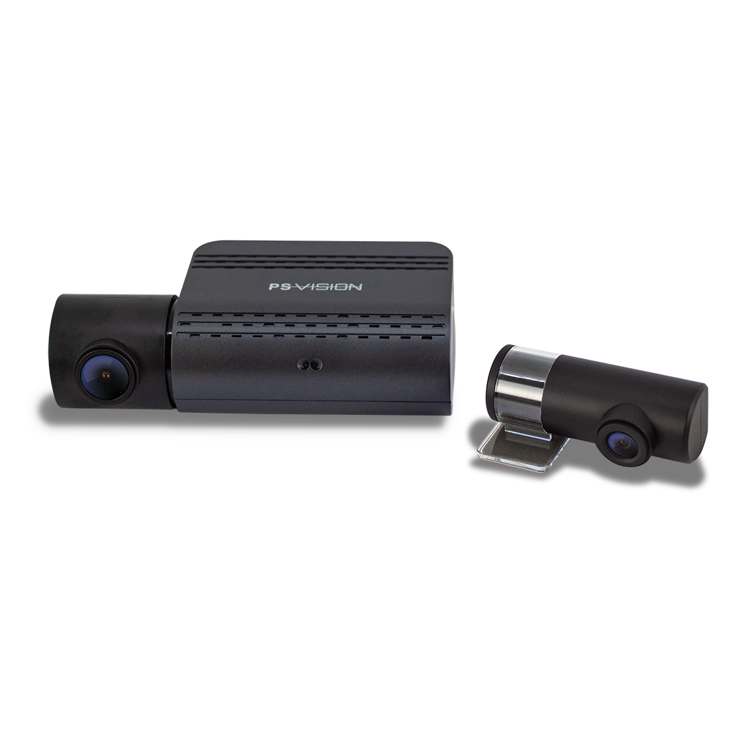 Front & Rear HD Dash Cam with Wi-Fi