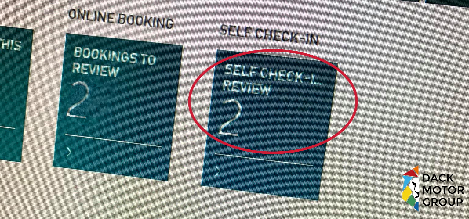 Coming Soon! Self Check In Service